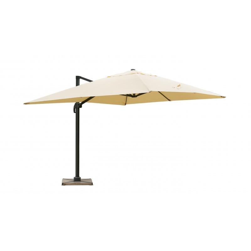 parasol d port avec ventilation 3m x 4m leonie beige. Black Bedroom Furniture Sets. Home Design Ideas