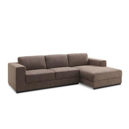 Angolo divano design lato destro 4 posti con chaise MAGALIE nel ...