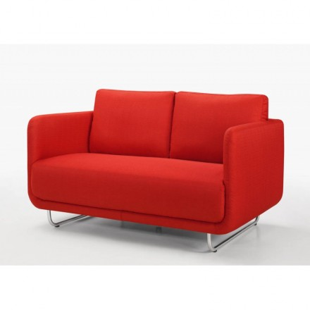 Sofa Vintage Cubic Right 2 Places Jonaz Red Cloth Amp Story 4202