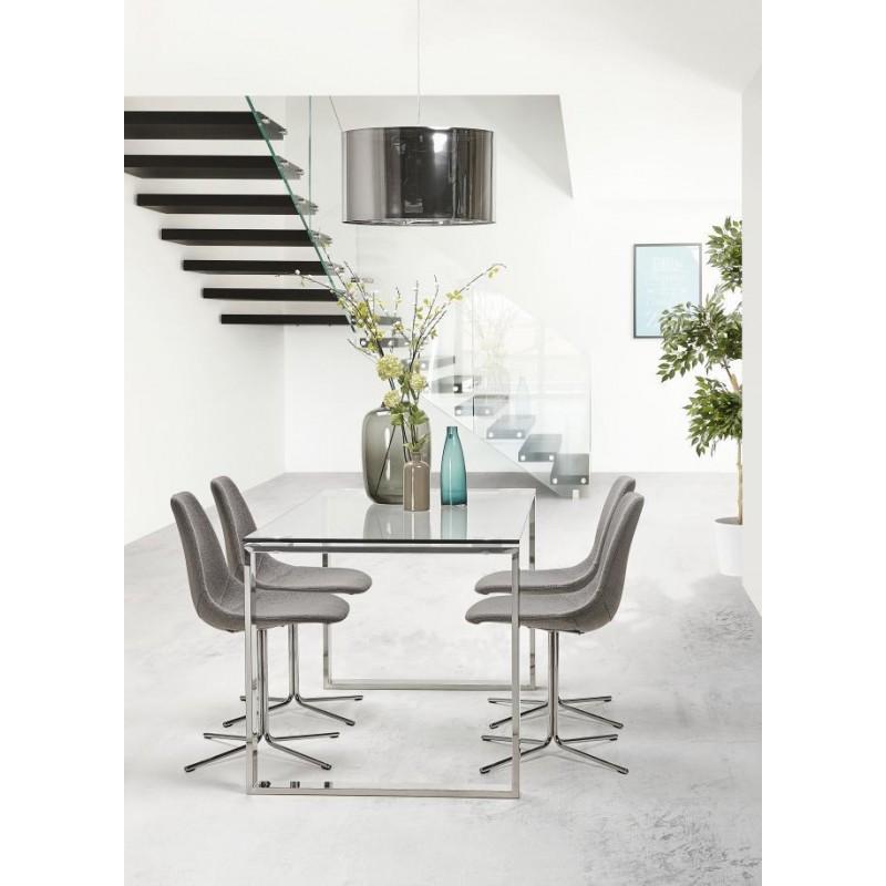 Chaise design contemporaine OFEN en tissu (gris) - image 30431
