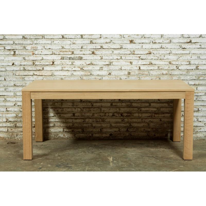 Table à manger extensible (180/235x90cmx76,5cm) JASON en chêne massif (chêne naturel) - image 30448