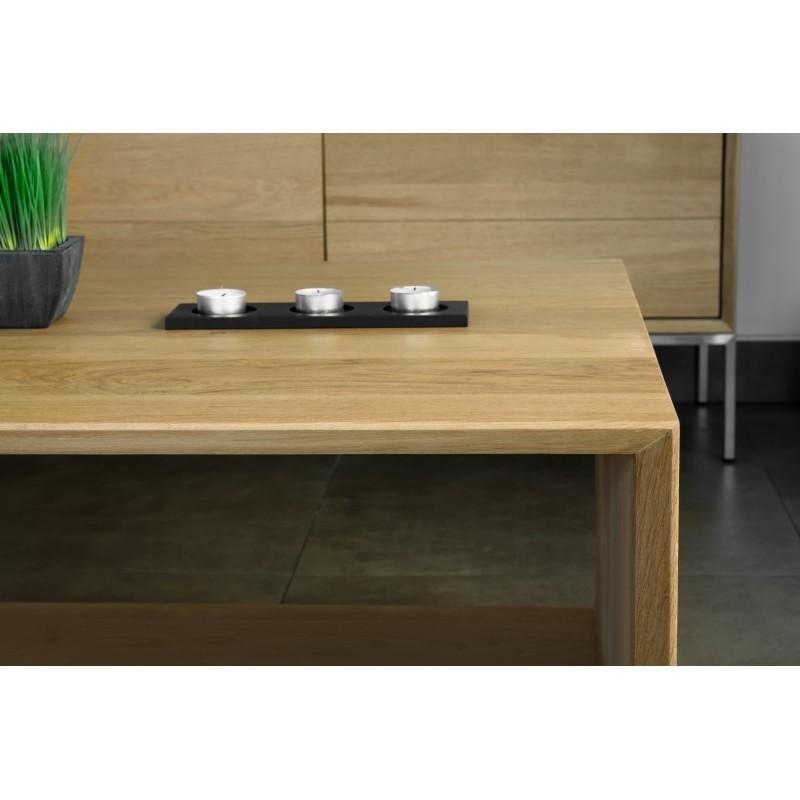 Table basse rectangulaire JASON en chêne massif (chêne naturel) - image 30466