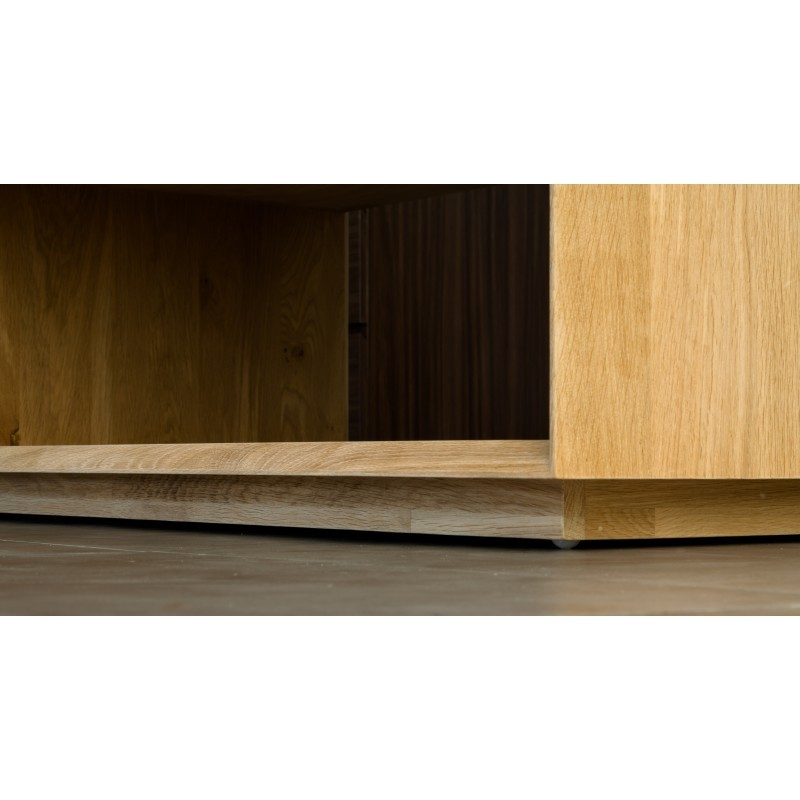 Table basse rectangulaire JASON en chêne massif (chêne naturel) - image 30467