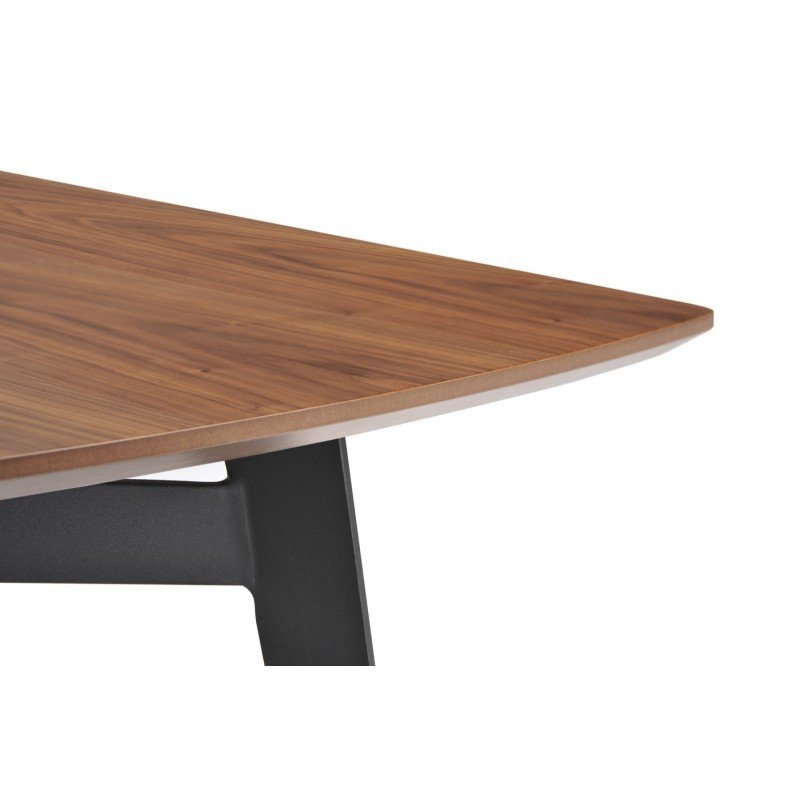 Contemporary Dining Table And Vintage Mael In Wood And Metal