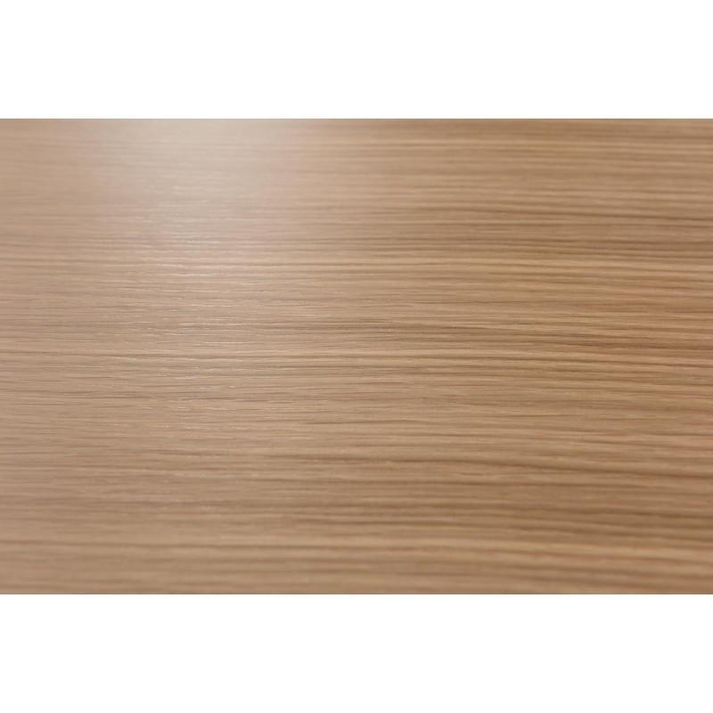 Fine tabella, tabella di fine design ARGAN in legno e metallo ...