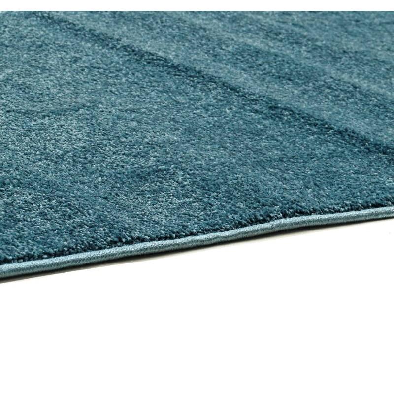 Teppich Modern und Fries 60 X 110 cm moderne FRIESLAND SUPERVERSO (blau)