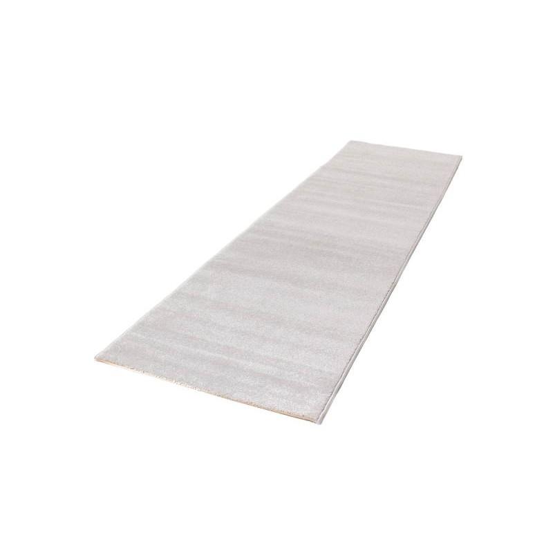 tapis de couloir moderne et fris 80x300 cm modern frise superverso gris clair. Black Bedroom Furniture Sets. Home Design Ideas