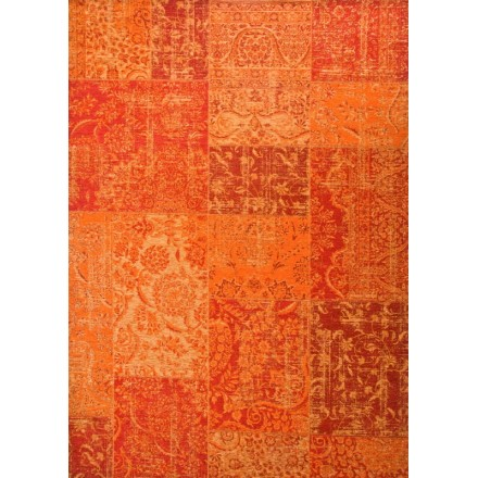 Tapis de salon moderne couleurs d lav es 200x280 cm berlin for Tapis orange salon