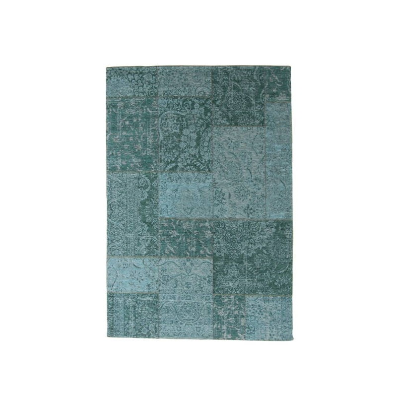 tapis de salon moderne couleurs d lav es 80x50 cm berlin turquoise. Black Bedroom Furniture Sets. Home Design Ideas