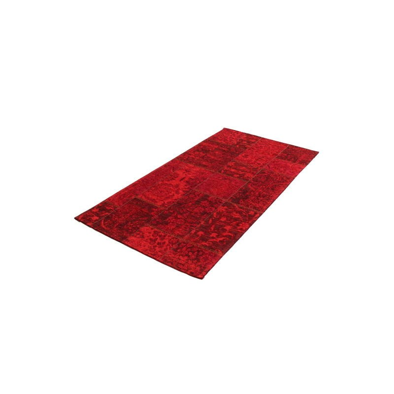 tapis de salon moderne couleurs d lav es 90x150 cm berlin rouge. Black Bedroom Furniture Sets. Home Design Ideas
