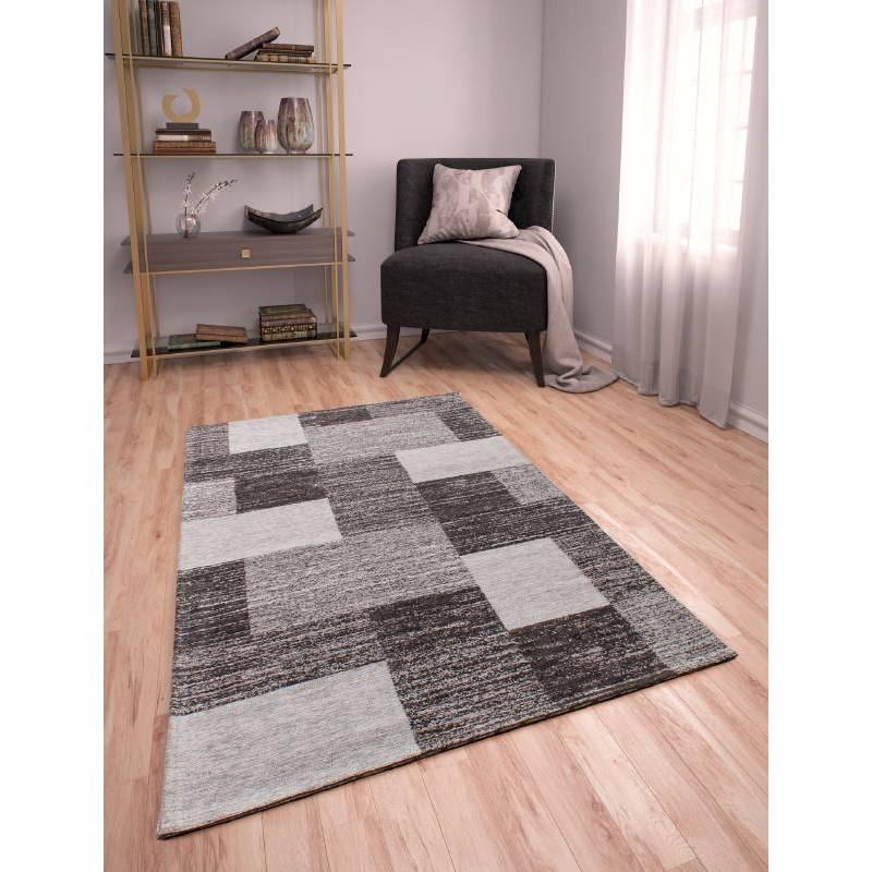 Wohnzimmer Teppich Modern Ausgewaschenen Farben 200 X 290