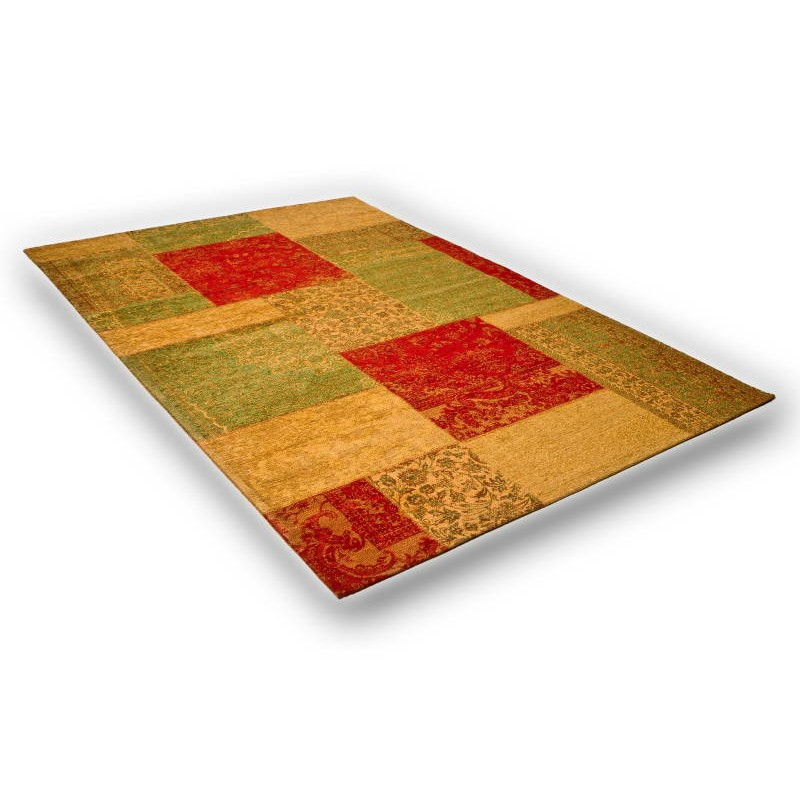wohnzimmer teppich modern verwaschen farben 240 x 340 cm berlin gelb gr n. Black Bedroom Furniture Sets. Home Design Ideas