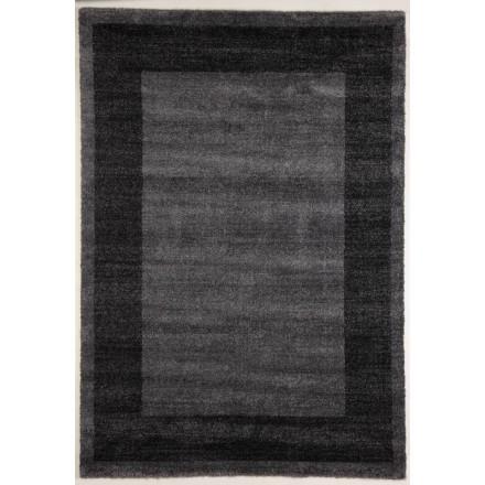Teppich Wohnzimmer Modern und 80 X 150 cm moderne Mode GABEH gemustert  (Grau dunkel - anthrazit) - AMP Story 4600