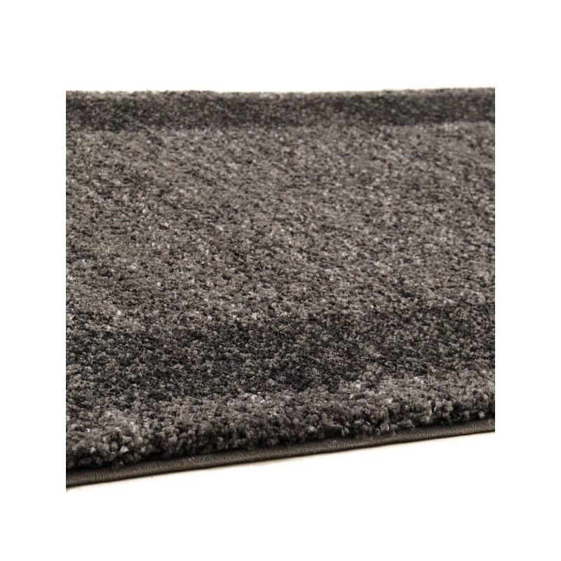 tapis de couloir moderne 80x300 cm modern fashion gabeh gris fonce anthracite. Black Bedroom Furniture Sets. Home Design Ideas