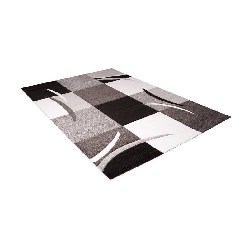 Sala de estar alfombra moderna y friso 200 x 280 cm frisia - Tapis 200 x 200 ...