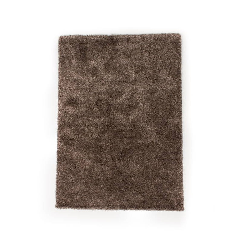 Tapis de salon shaggy luxe longues m ches 160x230 cm for Tapis salon clair