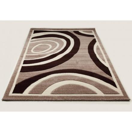 Wohnzimmer Teppich Modern und Fries 240 X 330 cm moderne FRIESLAND  SUPERVERSO (BEIGE - braun) - AMP Story 4964