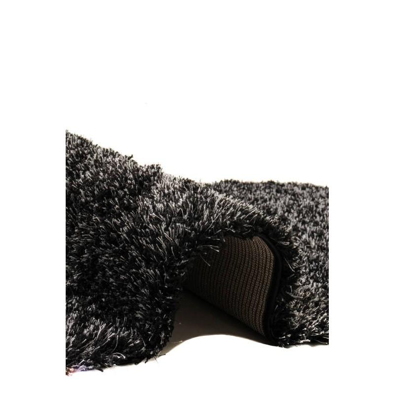 tapis de salon shaggy luxe couleurs ombr es 80x150 cm. Black Bedroom Furniture Sets. Home Design Ideas