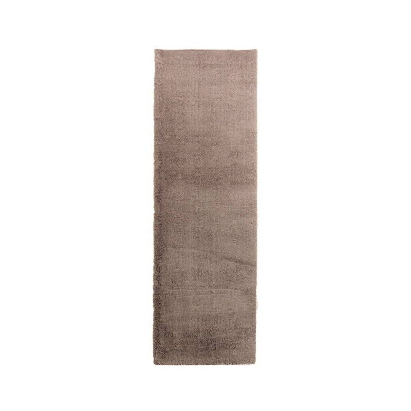 Tapis de couloir shaggy de luxe moderne 80x300 cm shaggy for Tapis de couloir moderne design