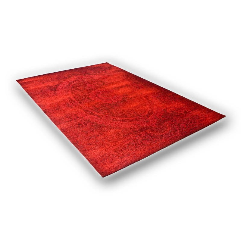 tapis de salon moderne couleurs d lav es 200x280 cm berlin rouge rouge. Black Bedroom Furniture Sets. Home Design Ideas