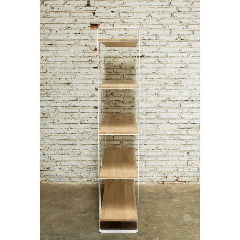 Etagère bibliothèque design NUCE en chêne massif (chêne naturel) - image 36046