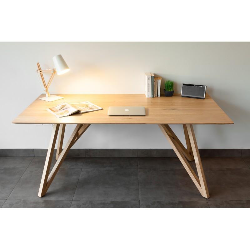 Tavolo da pranzo design rovere massello LEVANA (180x90cmx76cm ...