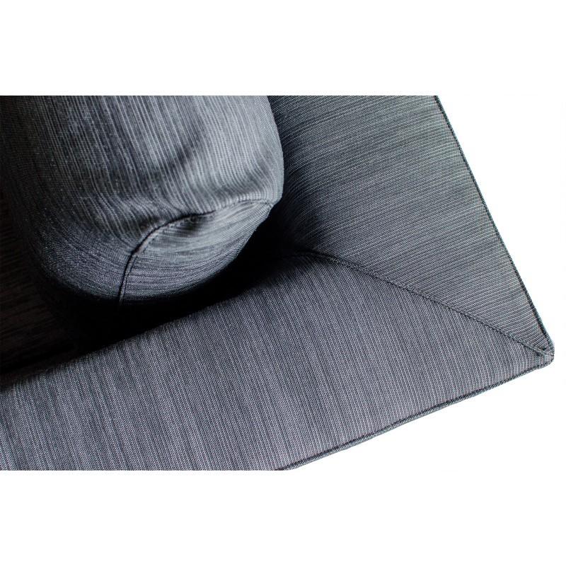 Salon de jardin 7 places haut de gamme YURI en tissu (gris) - image 36602
