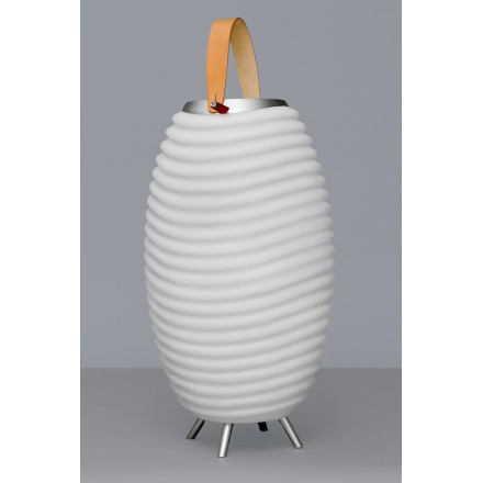 Lamp LED bucket champagne pregnant speaker bluetooth KOODUU synergy S 35 (white)