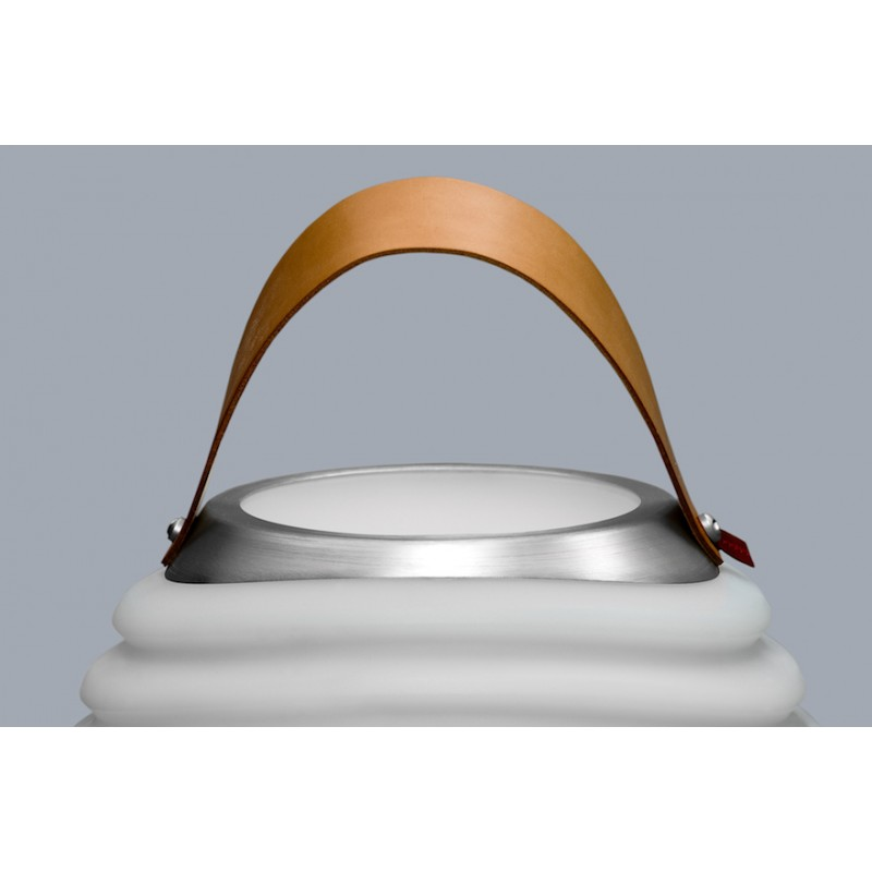 Lampe LED seau à champagne haut-parleur enceinte bluetooth KOODUU SYNERGIE 50 (blanc) - image 36635
