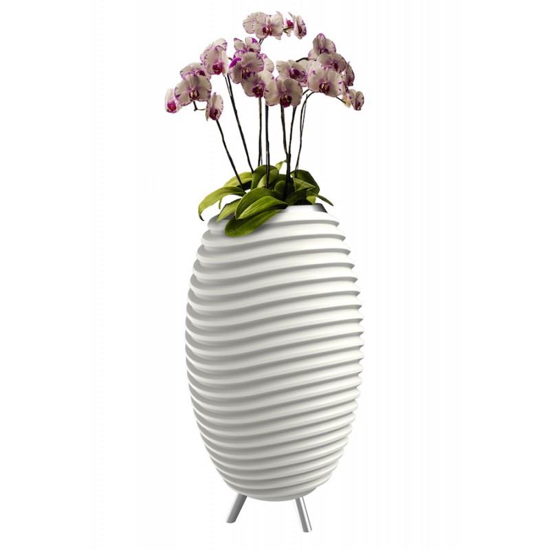 Lampe LED seau à champagne haut-parleur enceinte bluetooth KOODUU SYNERGIE 50 (blanc) - image 36637