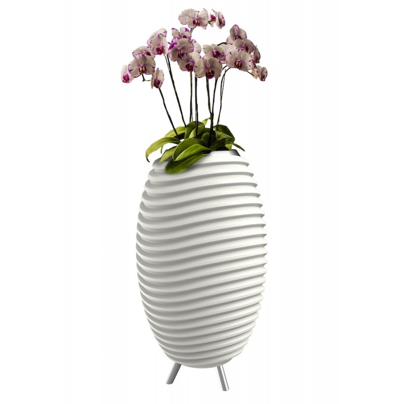 Lamp LED bucket champagne pregnant speaker bluetooth KOODUU synergy S 65 (white) - image 36647