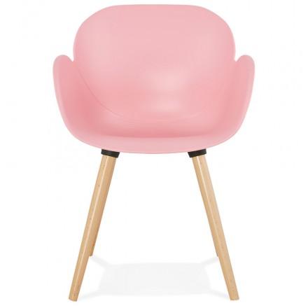 En 5551 Polypropylènerose Story Lena PoudréAmp Style Scandinave Chaise Design Qrhdst