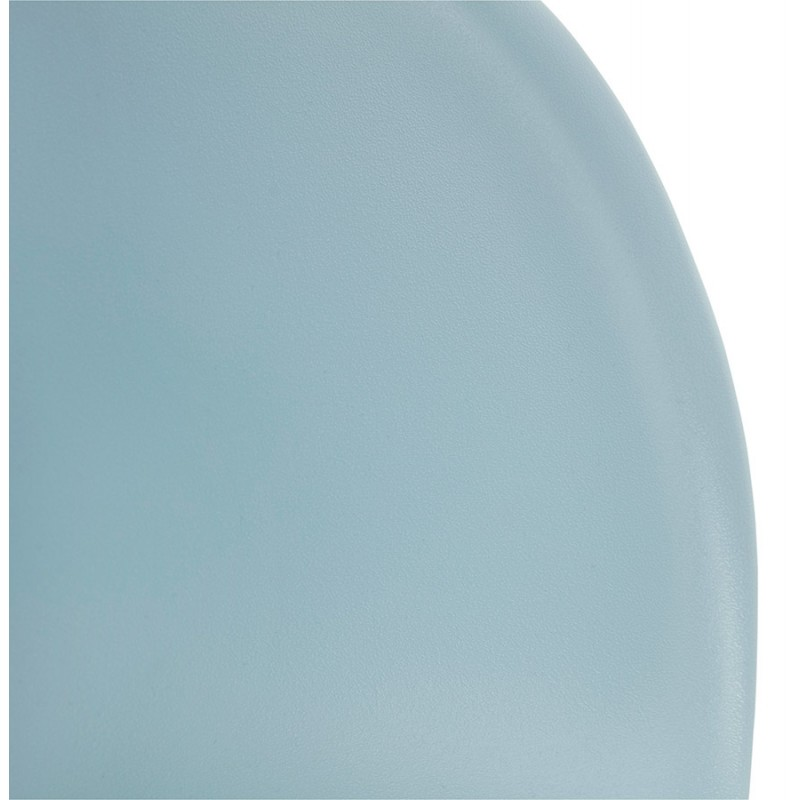 Design chair foot tapered ADELE polypropylene (sky blue) - image 36788