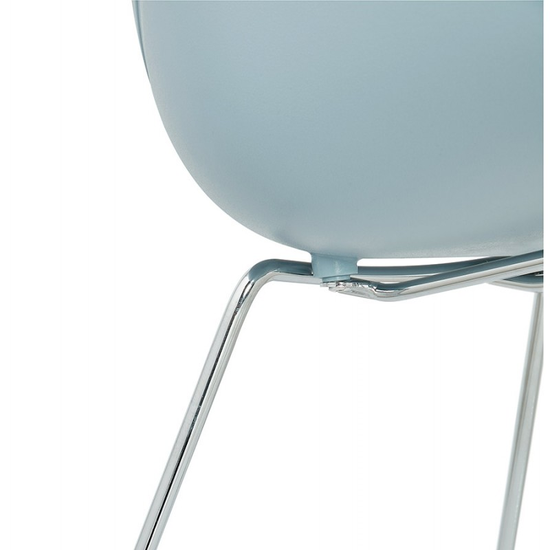 Design chair foot tapered ADELE polypropylene (sky blue) - image 36790