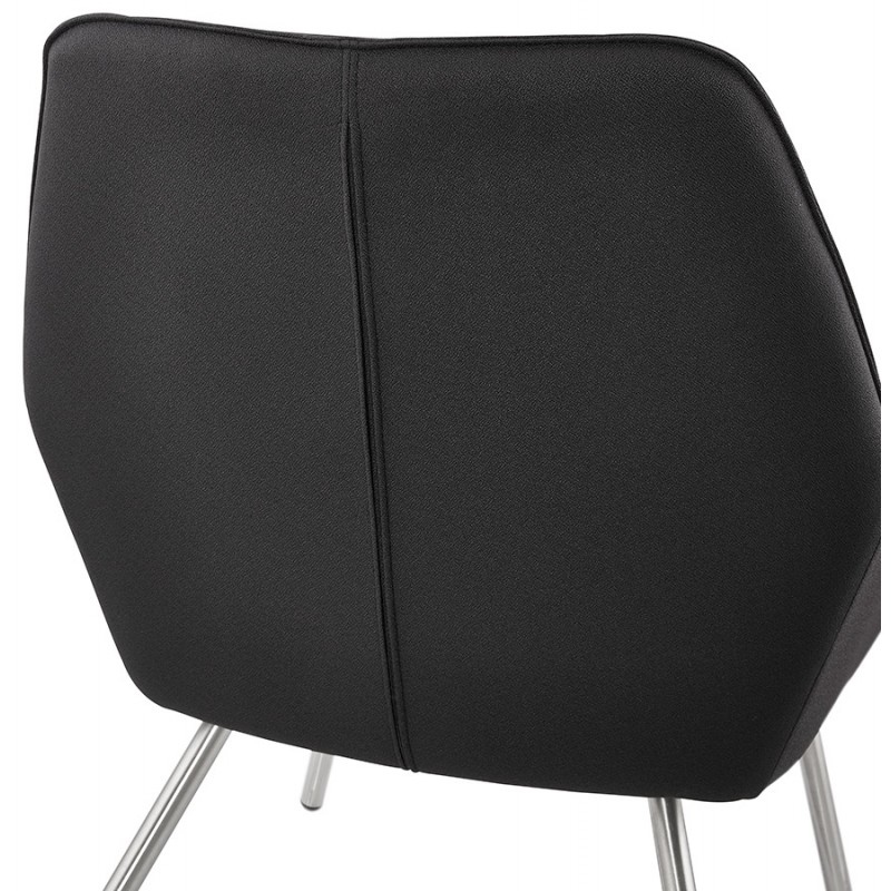 Design lounge YORI fabric Chair (charcoal gray) - image 36803