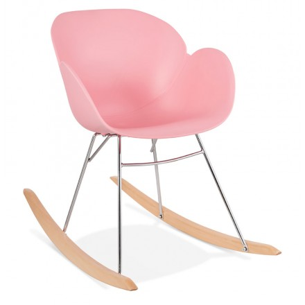 Rocker design EDEN polypropylene (powder pink)