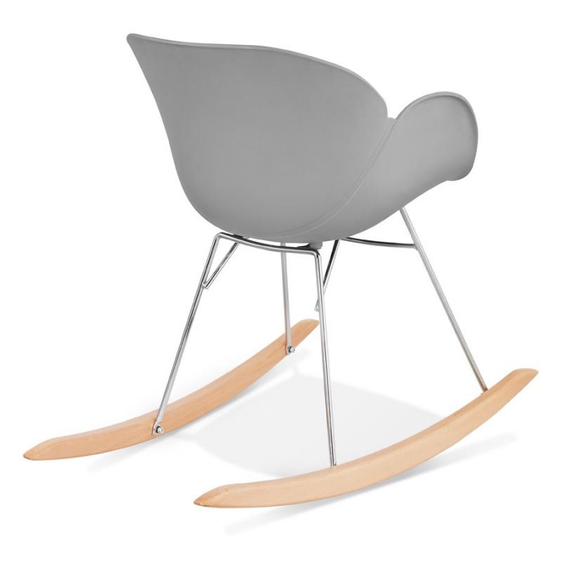 Design EDEN (hellgrau) aus Polypropylen Stuhl Schaukeln - image 36974