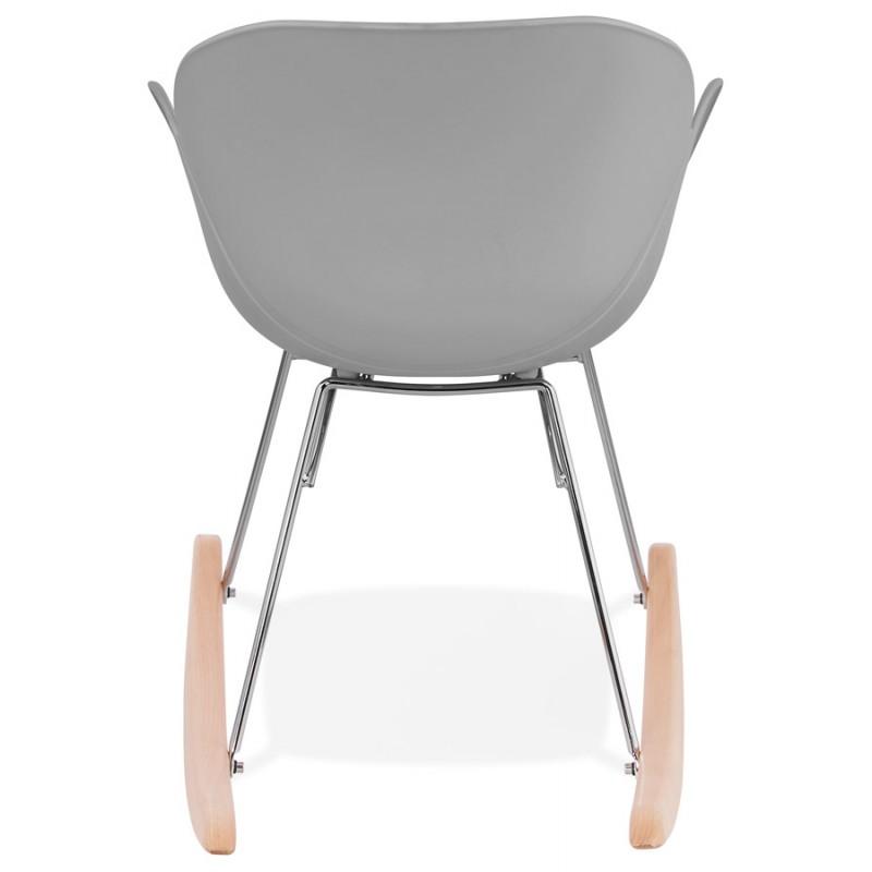 Design EDEN (hellgrau) aus Polypropylen Stuhl Schaukeln - image 36975