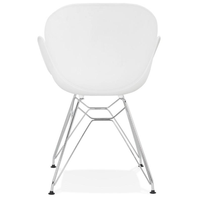 Verchromtem Design Stil Stuhl Industriellen Polypropylen Tom Fuß E2IYeW9DH