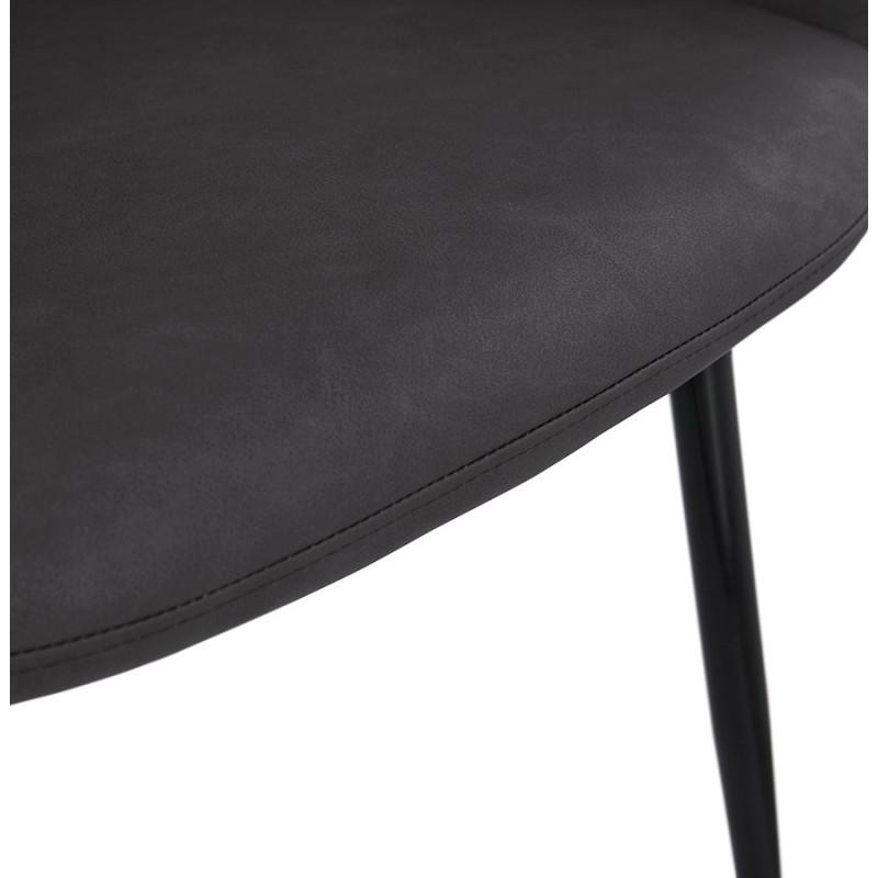 Sedia design e moderno SHELA (grigio scuro) - image 37175