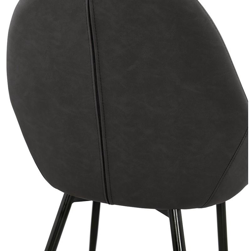 Sedia design e moderno SHELA (grigio scuro) - image 37179