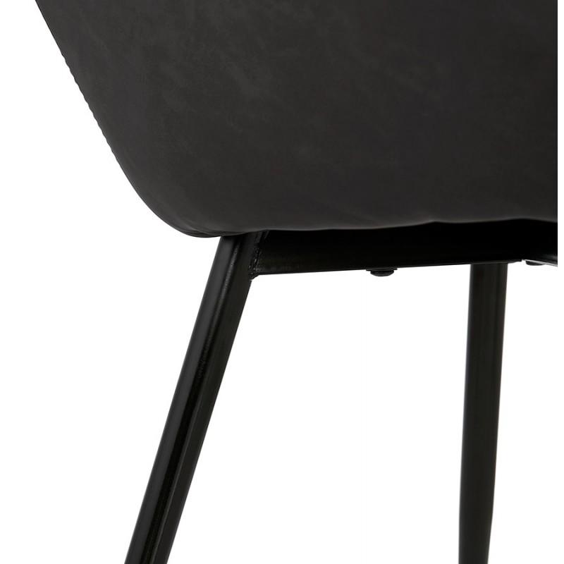 Sedia design e moderno SHELA (grigio scuro) - image 37180