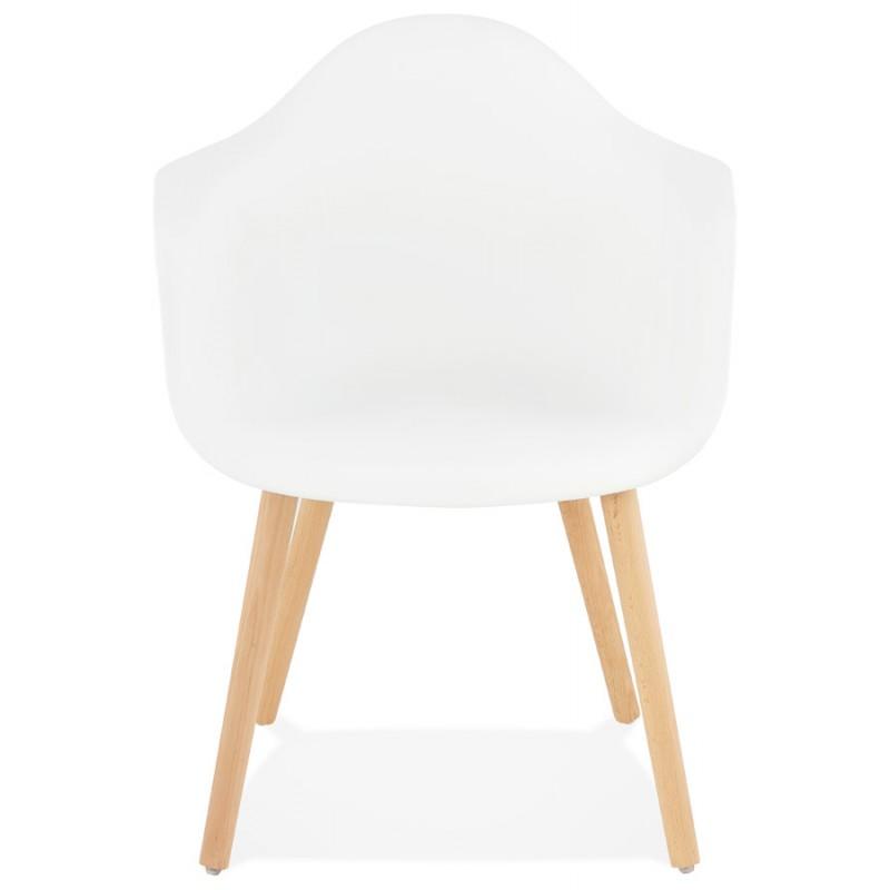 Accoudoirs Chaise En Polypropylène Avec Ophelie Scandinave Design dtrBshQxC