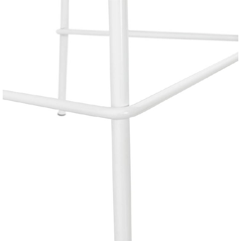 Bar bar halfway up industrial OCEANE MINI (white) chair stool - image 37404
