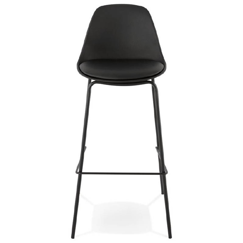 Industrial bar OCEANE (black) Chair bar stool - image 37409