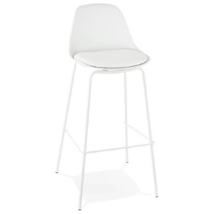 Industrial bar OCEANE (white) Chair bar stool