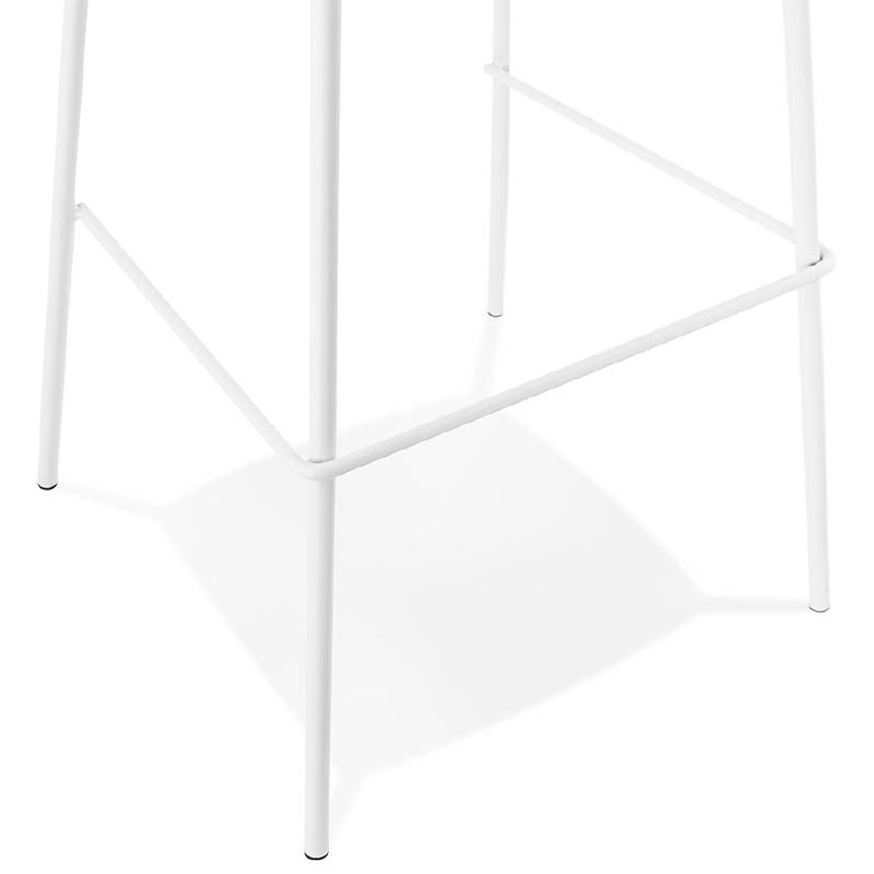 Industrial bar OCEANE (white) Chair bar stool - image 37428