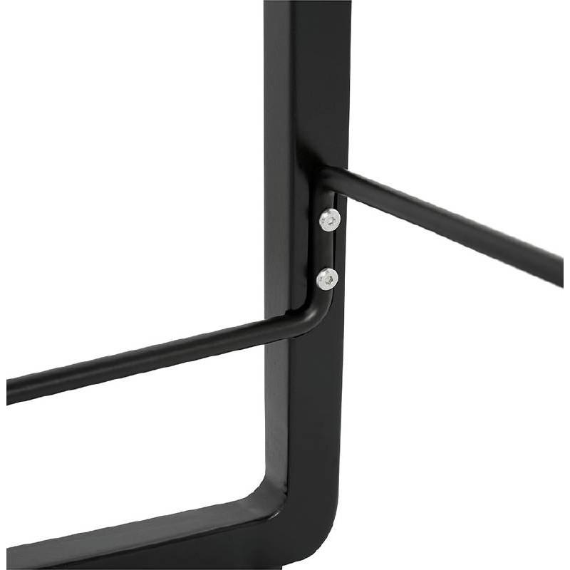 Tabouret de bar chaise de bar mi-hauteur design OBELINE MINI (blanc) - image 37563