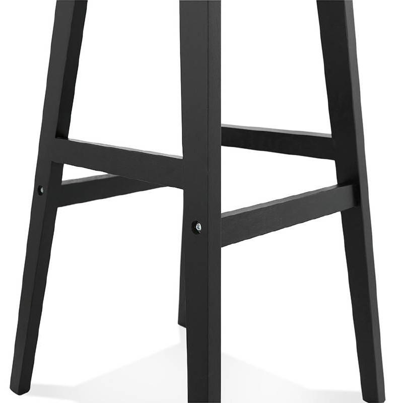 Tabouret de bar chaise de bar design JACK (noir) - image 37641