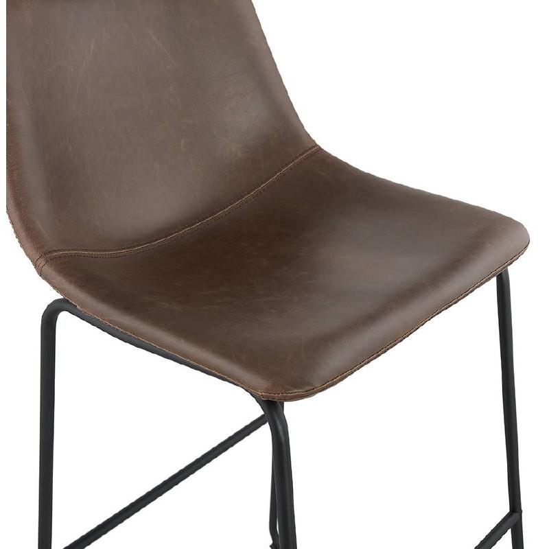 Tabouret de bar chaise de bar vintage JOE (marron) - image 37658